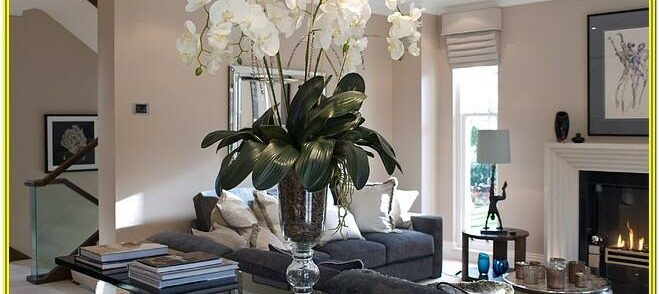 Living Room Decoration Ideas With Flowers