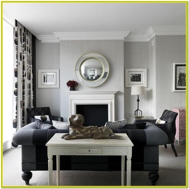 Living Room Decoration Ideas With Gray Walls