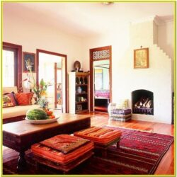 Living Room Decoration Indian Style
