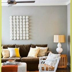 Living Room Decorations With Brown Furniture