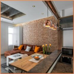 Living Room Decorative 3d Wood Wall Panels