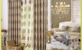 Living Room Decorative Curtain Design