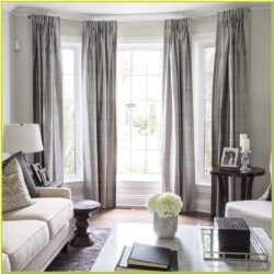 Living Room Decorative Window Curtains