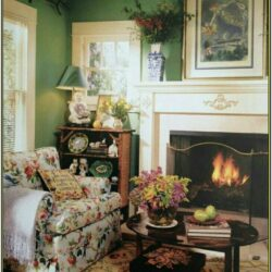 Living Room English Country Cottage Decor
