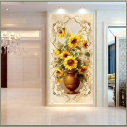 Living Room Entrance Wall Decor