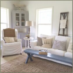 Living Room Farm Style Decor