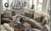 Living Room Farmehouse Glam Decor