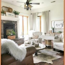 Living Room Farmhouse Living Room Wall Decorations 1