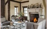 Living Room Fireplace Mantel Decor