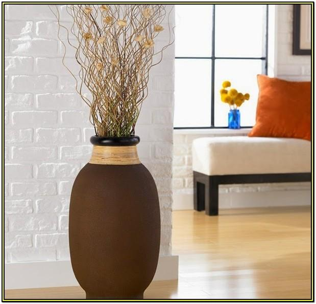 Living Room Floor Vase Decor