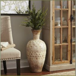 Living Room Flower Tall Container Foor Decorator