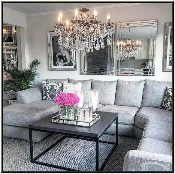 Living Room Glam Decor 2017