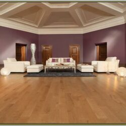 Living Room Hardwood Floor Decoration