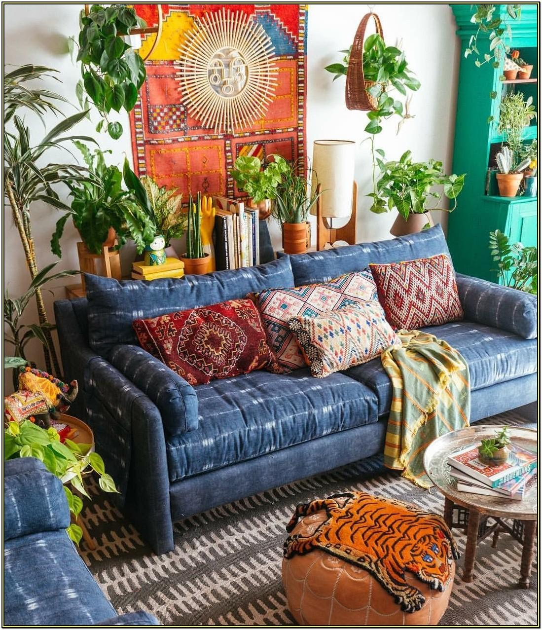 Living Room Home Decor Hippie