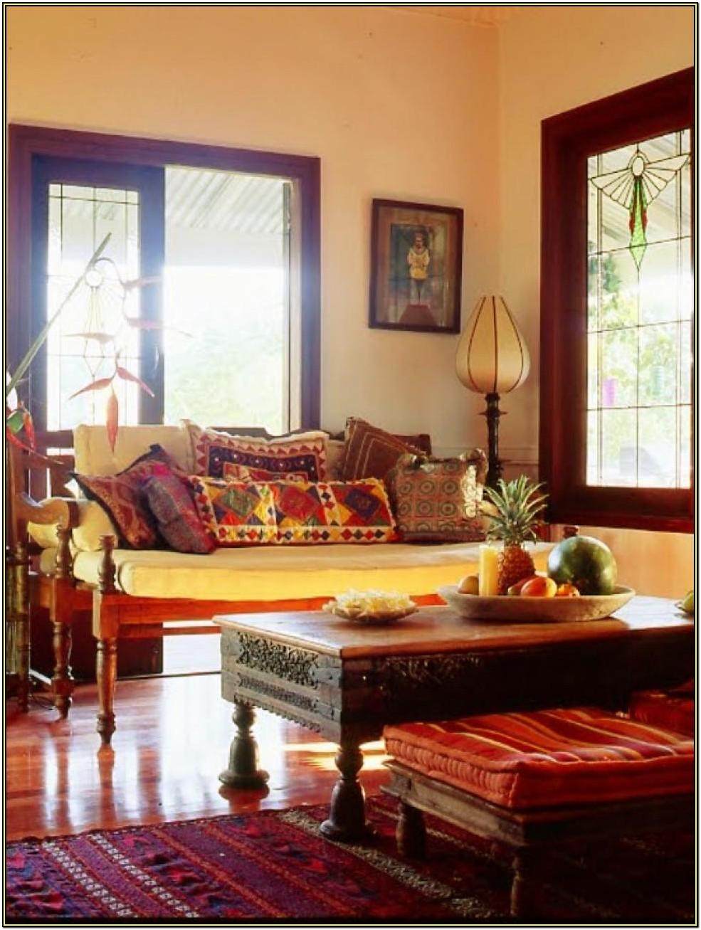 Living Room Interior Decoration India