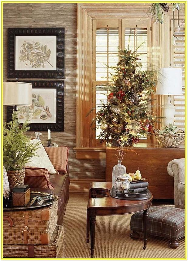 Living Room Interior Design Christmas Decor Ideas