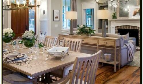 Living Room Kitchen Combo Decorating Ideas