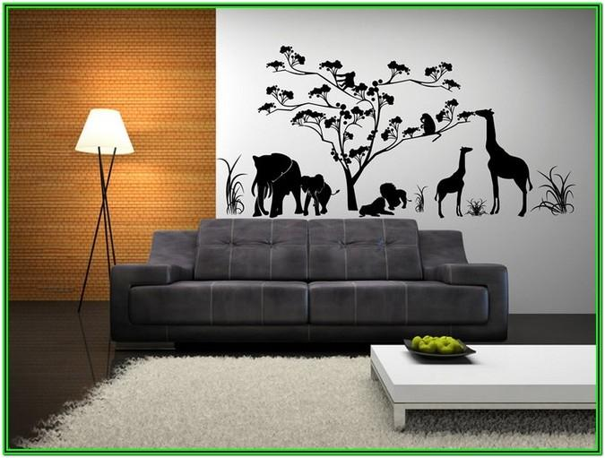 Living Room Metal Wall Art Decor