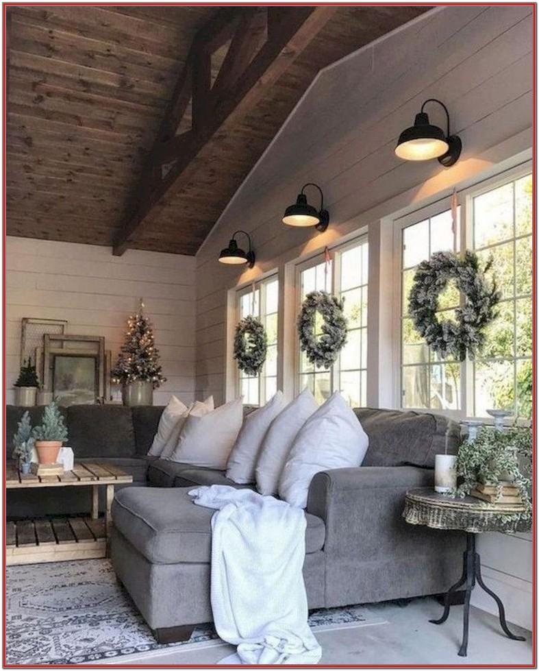 Living Room Minimalist Farmhouse Decor