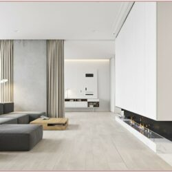 Living Room Minimalist House Decor