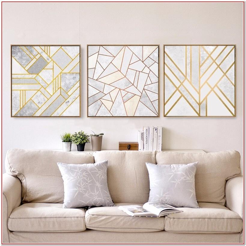 Living Room Minimalist Wall Decor