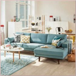 Living Room Mint Decor