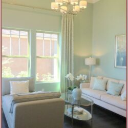 Living Room Mint Green Wall Decor 1
