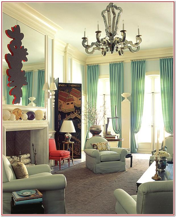 Living Room Mint Green Wall Decor