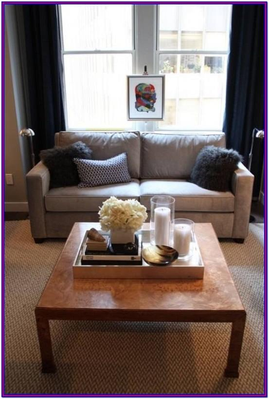 Living Room Modern Coffee Table Decor