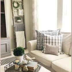 Living Room Modern Farmhouse Decor Ideas