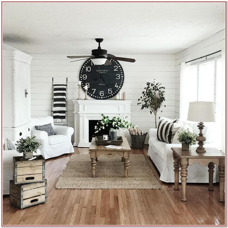 Living Room Modern Farmhouse Decor