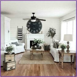 Living Room Modern Farmhouse Decorating Ideas 1