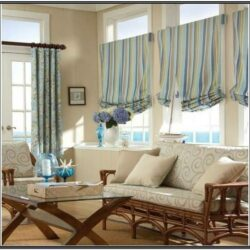 Living Room Modern Valance Ideas