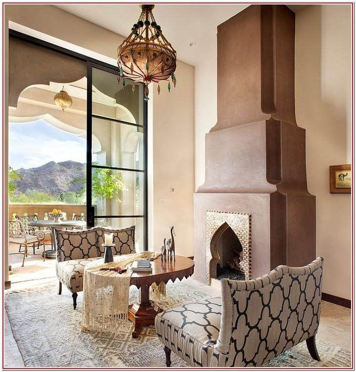 Living Room Moroccan Style Decor