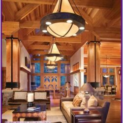 Living Room Mountain Cabin Decor 1