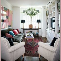 Living Room Narrow Standing Decor