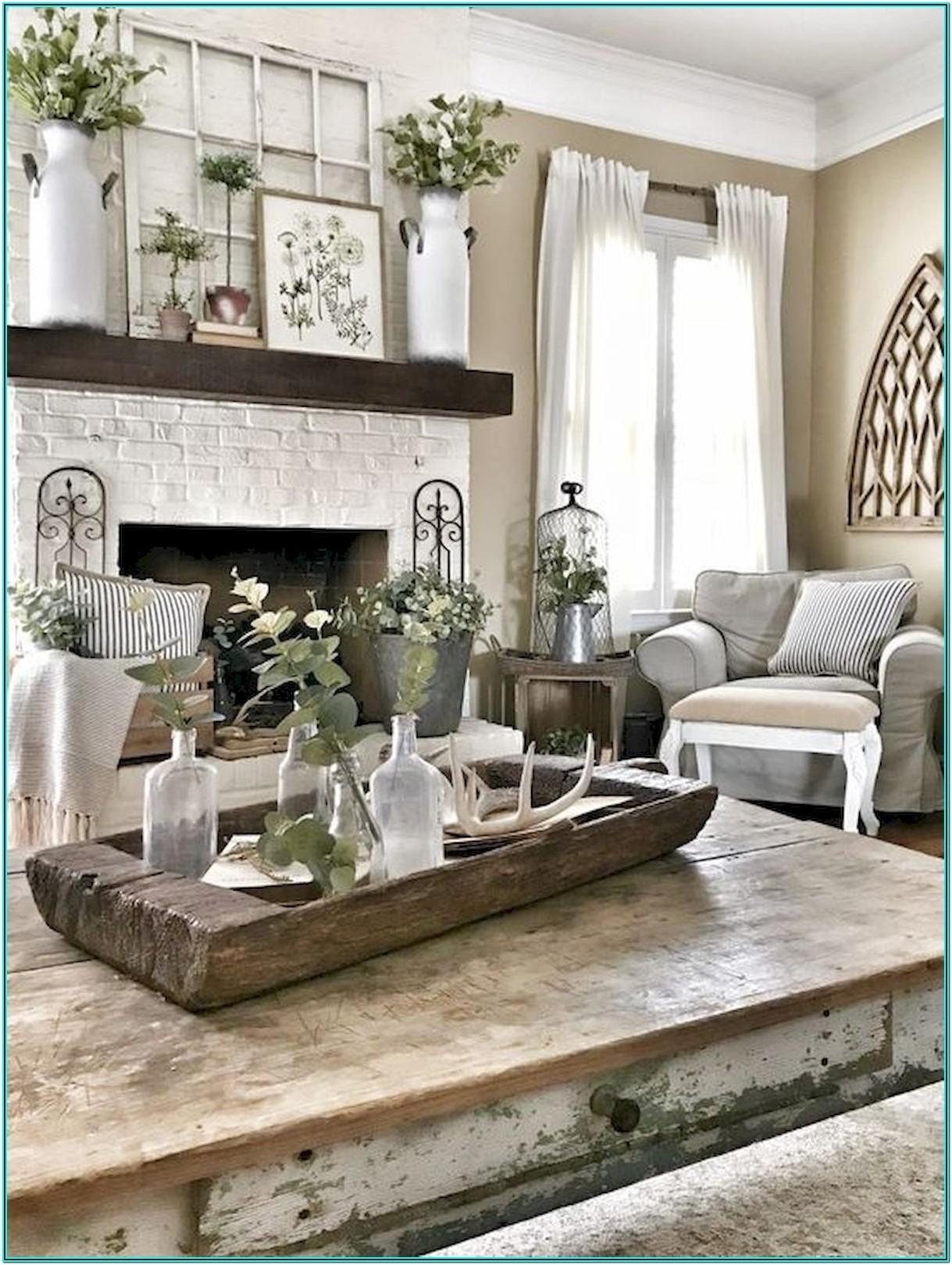 Living Room Old Farmhouse Decorating Ideas