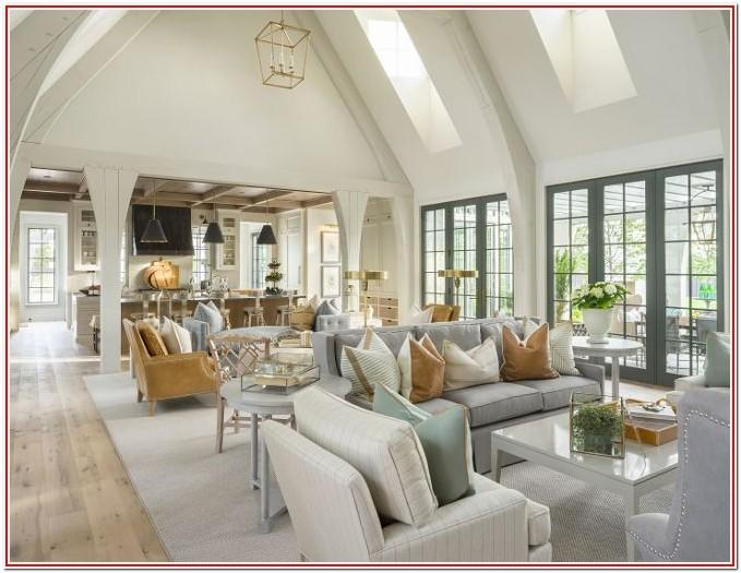Living Room Open Floor Plan Decorating
