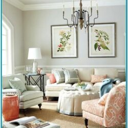 Living Room Pastel Home Decor 1