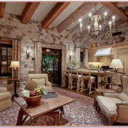 Living Room Pictures Ingn Walls Rustic Decor
