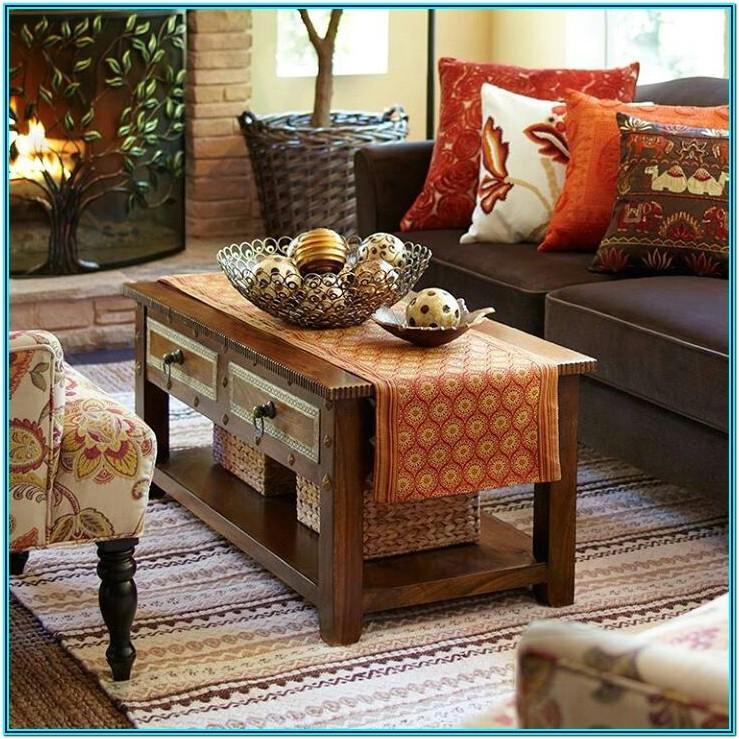 Living Room Pier One Decor