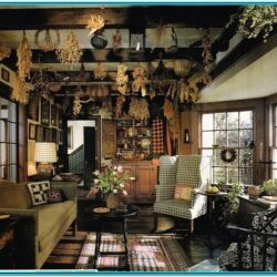 Living Room Primitive Country Decor