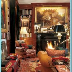 Living Room Ralph Lauren Home Decor