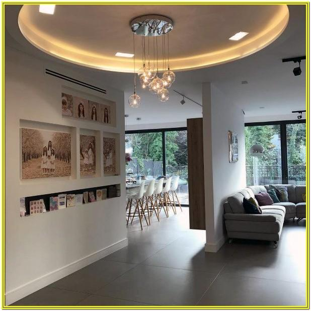 Living Room Recessed Wall Niche Ideas