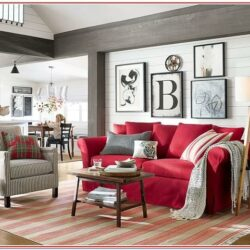Living Room Red Decorating Ideas