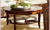 Living Room Round Table Decor Ideas