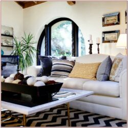 Living Room Rug Decorating Ideas