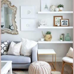Living Room Selves Decor Ideas