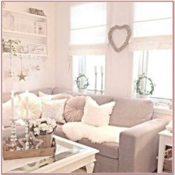 Living Room Shabby Chic Wall Decor