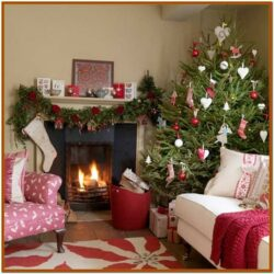 Living Room Small Space Christmas Decorations Indoor 1